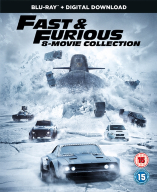 Fast & Furious 8-Film Collectio (Blu-ray)