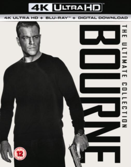 Bourne 4K Collection (4K UHD + Blu-ray)