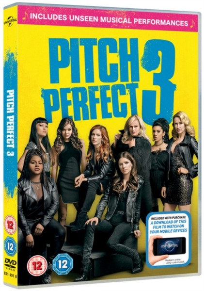 Pitch Perfect 3 (DVD + digital download) [2018]