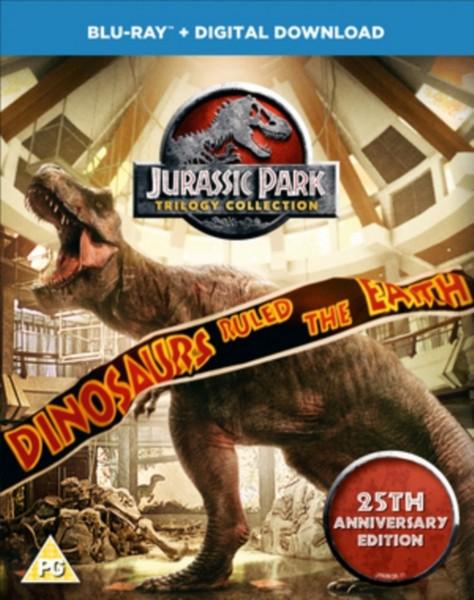 Jurassic Park Trilogy (BD)  [2018] [Region Free] (Blu-ray)