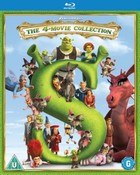 Shrek: The 4-Movie Collection  (Blu-ray) (2018)
