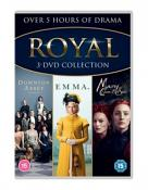 Royal Triple Boxset (Downton Abbey/Emma/Mary Queen of Scots) [DVD] [2020]