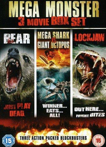 Mega Monster 3 Disc Boxset (Mega Shark V Giant Octopus  Lockjaw & Bear) (DVD)