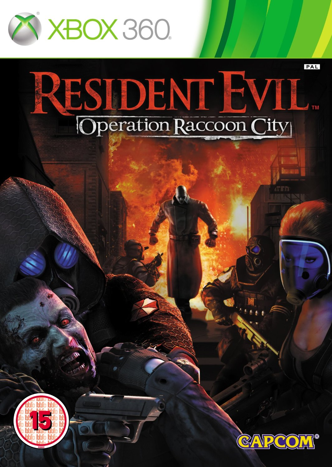 Resident Evil - Operation Raccoon City (XBox 360)