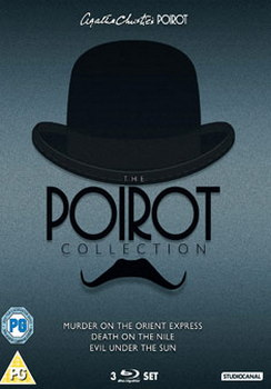 Poirot Blu-ray Boxset (Murder On The Orient Express / Death On The Nile / Evil Under The Sun) (Blu-ray)