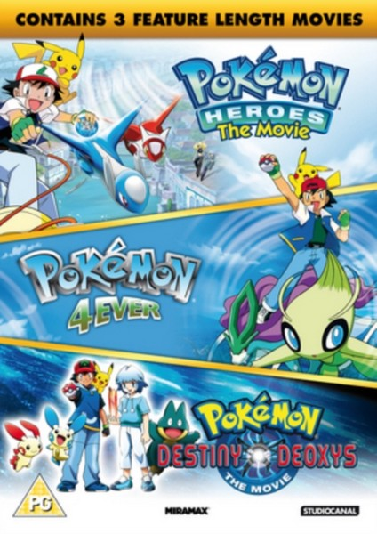 Pokémon - Triple Movie Collection DVD