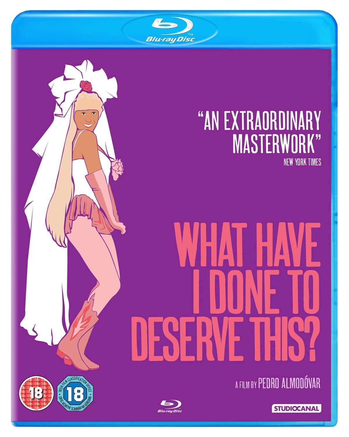 What Have I Done To Deserve This? (Blu-Ray)