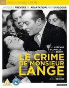 Le Crime De Monsieur Lange (DVD)  (1936)
