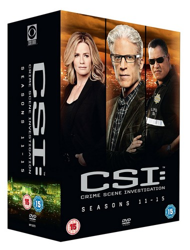CSI Vegas: Seasons 11-15 (DVD)