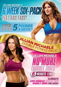 Jillian Michaels - Six Week Six-Pack / No More Trouble Zones (DVD)