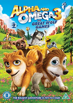 Alpha And Omega 3 - The Great Wolf Games (DVD)