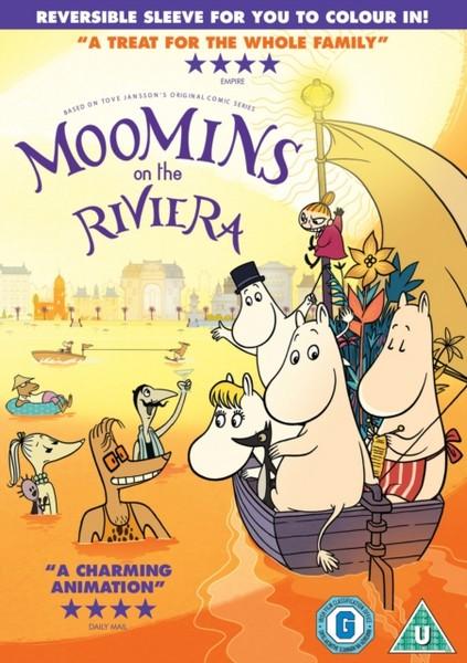Moomins On The Riviera (DVD)