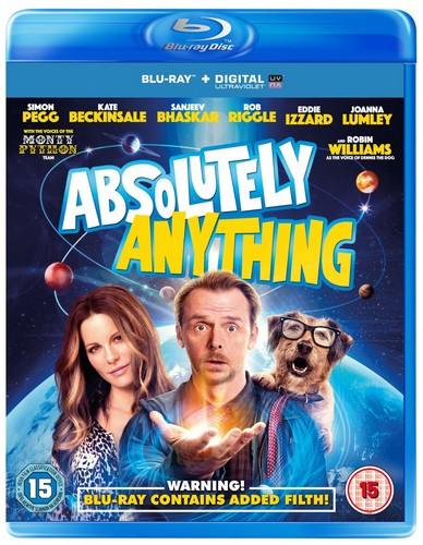 Absolutely Anything [Blu-ray] (Blu-ray)