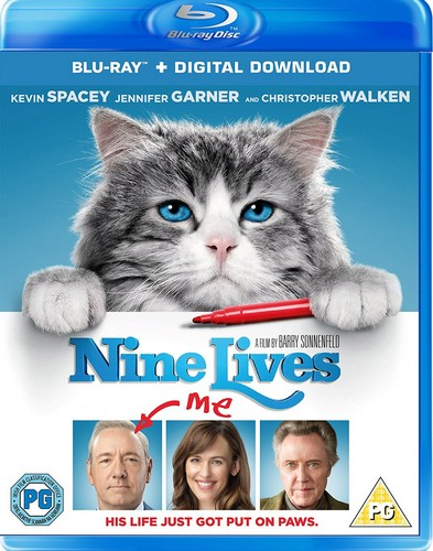 Nine Lives [Blu-ray] [2016] (Blu-ray)