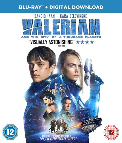 Valerian and the City of A Thousand Planets [Blu-ray + UV] [2017] (Blu-ray)