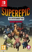 SuperEpic: The Entertainment War (Nintendo Switch) - Badge Collector's Edition