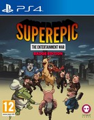 SuperEpic: The Entertainment War (PS4) - Badge Collector's Edition