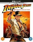 Indiana Jones 4-Movie Collection 4K Ultra HD + Blu-ray [2021]