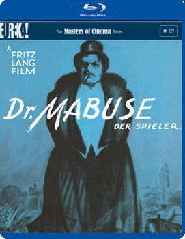 Dr. Mabuse  Der Spieler [Dr. Mabuse  The Gambler] (Masters of Cinema) (Blu-ray)