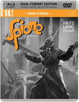 Spione [Masters of Cinema] Dual Format (Blu-ray & DVD) (1928)