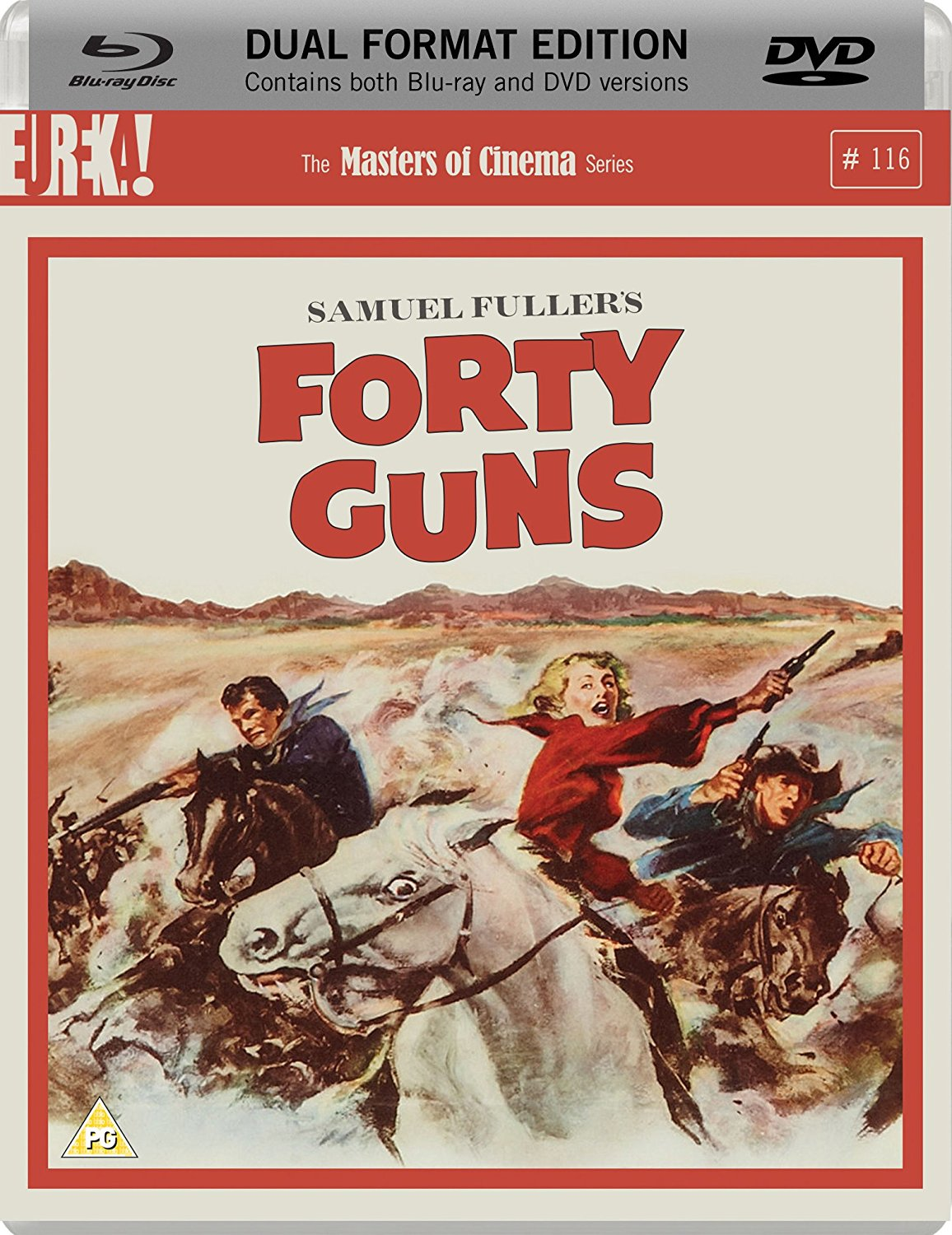 Forty Guns (1957) Dual Format (Blu-ray & DVD)