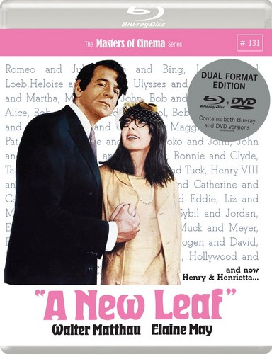 A New Leaf (1971) [Masters of Cinema] Dual Format (Blu-ray & DVD)