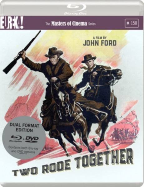 Two Rode Together (1961)  Dual Format (Blu-ray & DVD)