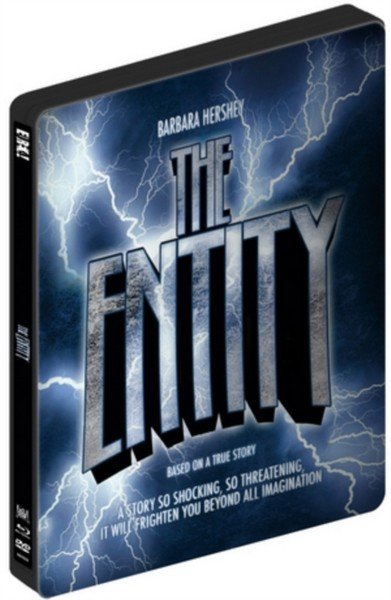 The Entity (1982) (Limited Edition Dvd & Blu-Ray Steelbook) (DVD)