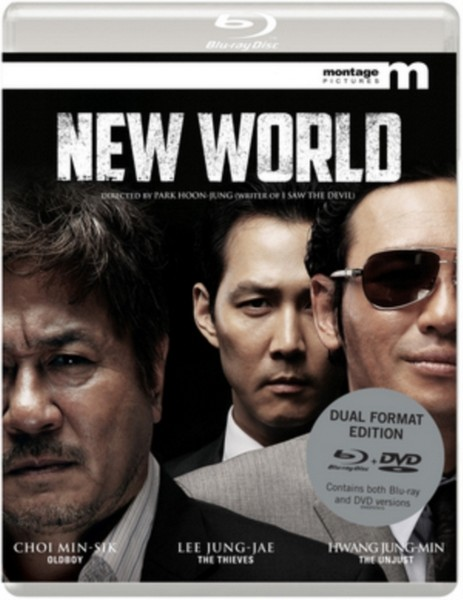 New World (2013) Dual Format (Blu-ray & DVD) edition (Blu-ray)