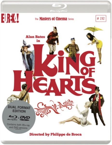 King of Hearts (1966) [Masters of Cinema] Dual Format (Blu-ray & DVD) edition (Blu-ray)