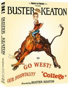 Buster Keaton: 3 Films (Volume 3) (Our Hospitality  Go West  College) (Masters of Cinema) Limited Edition Blu-ray Boxed Set [2020]