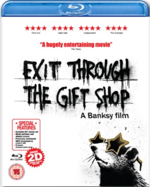 Exit Through The Gift Shop (A Banksy Film) (Blu-Ray)