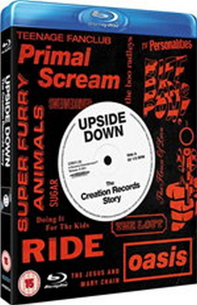 Upside Down - The Creation Records Story (Blu-Ray)