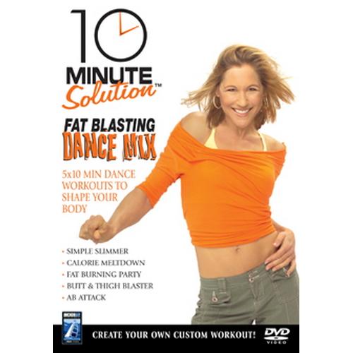 10 Minute Solution - Fat Blasting Dance Mix (DVD)