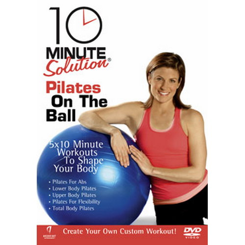 10 Minute Solution - Pilates On The Ball (DVD)