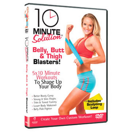 10 Minute Solution - Belly  Butt And Thigh Blasters (DVD)