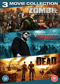 Zombie Triple (Zombie Apocalypse / Abraham Lincoln Vs Zombies / The Dead) (DVD)