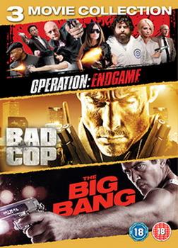 Cop Triple (Big Bang / Bad Cop / Operation: Endgame) (DVD)