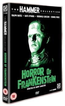 Horror Of Frankenstein  The (DVD)