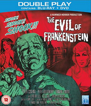 Evil Of Frankenstein (BLU-RAY)