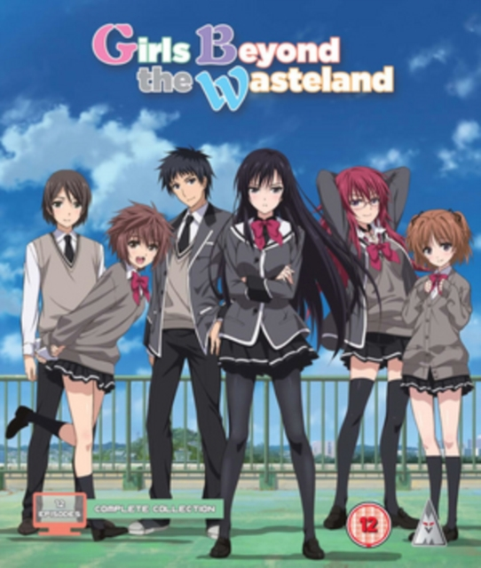 Girls Beyond The Wasteland: Complete Collection  (Blu-ray)