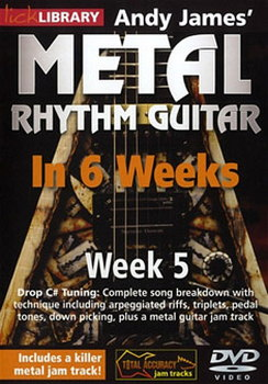 Andy James Learn Metal Rhythm Guitar In 6 Weeks - Week 5 (DVD)