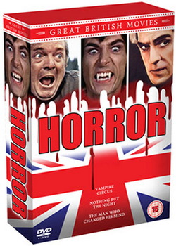 Great British Movies - Horror (DVD)