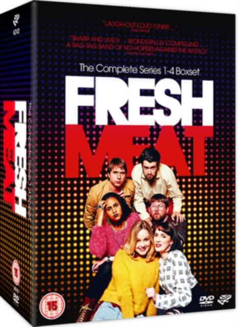 Fresh Meat: Series 1-4 (DVD)