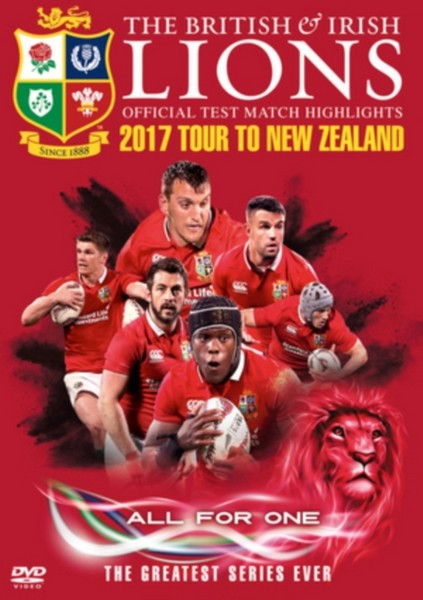 British And Irish Lions: Official Test Match Highlights 2017 Tour Of New Zealand (DVD)
