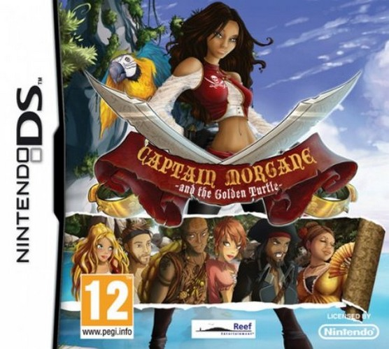 Captain Morgane and the Golden Turtle (Nintendo DS)