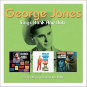 George Jones - Sings Hank & Bob [Double CD] (Music CD)