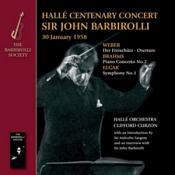 Brahms; Elgar; Weber: Hallé Centenary Concert 1958 (Music CD)