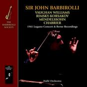 Hallé Orchestra - 1961 Lugano Concert & Berne Recordings - Vaughan Williams  Mendelssohn etc. (Music CD)
