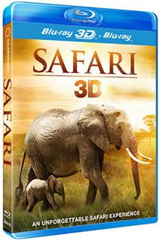 Safari 3D (BLU-RAY)